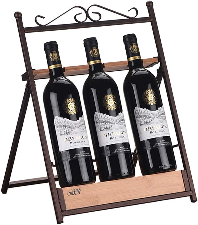 Utensilios de bar MSNDIAN Decoración de Estante de Vino de Madera Botella de Vino del hogar Estante decoración Creativa del gabinete del Vino Set de Vino Multifuncional. Artículos y equipo de servicio para la restauración