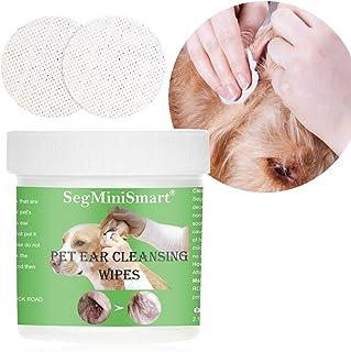 Toallitas Limpiadoras de Oído para Perros y Gatos, Oreja