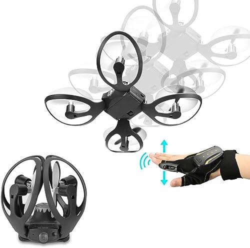 producto de calidad LJQ 2.4G Guante Guante Guante de Control de Guantes Miniñavión no tripulaño Braño helicóptero Plaño Juguetes para Niños  ventas en linea