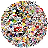301 Packs Cool Stickers Decals for Laptop ,Fashion Random Stickers for Adults Teens, Skateboard,Water Bottles Helmet Bicycle