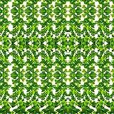 SunTop Plantas Artificial Decoración Hojas, Hiedra Artificial, 2.1 m -12 Pack Garland Plants...