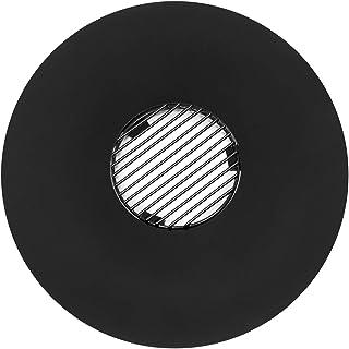 blumfeldt Heat Disc - Feuerschale, Grillring mit Grillrost, für Kesselgrills mit 57 cm Durchmesser, emaillierter Stahl, schwarz