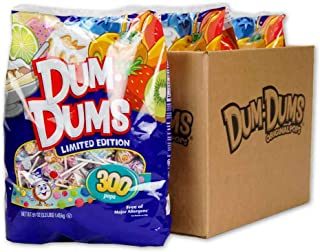 Dum Dums Tropicals and Treats 300 count bag (Pack of 3)