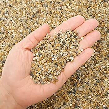 5.7 lb Coarse Sand Stone - Succulents and Cactus Bonsai DIY Projects Rocks Decorative Gravel for Plants and Vases Fillers,Terrarium Fairy Gardening Natural Stone Top Dressing for Potted Plants.
