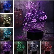 LED nachtverlichting 3D illusie nachtkastje lamp 33 kleuren veranderende slapen verlichting Smart Touch Button verjaardags...