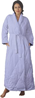 Quilted Down Robe