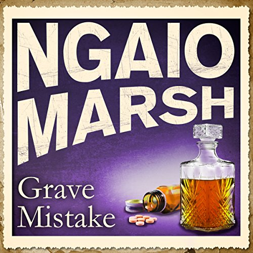 Grave Mistake audiobook cover art