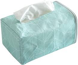 WINOMO Facial Tissue Box Cover Geometry Rectangular Napkin Holder Tissue Holder for Home Office Car