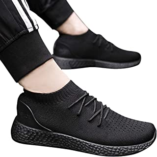 RONSHIN Men All Matching Sports Casual Breathable Running Shoes