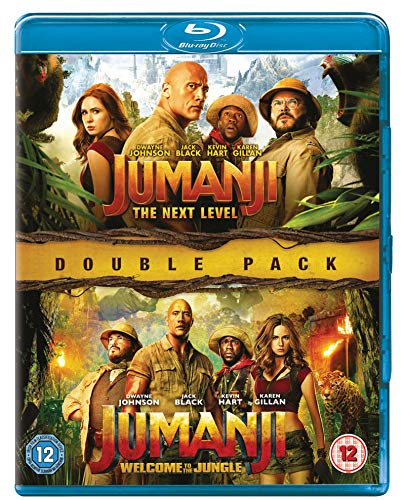 Jumanji: The Next Level / Jumanji: Welcome to the Jungle - Set [Blu-ray] [UK Import]