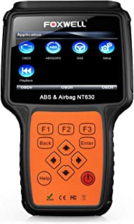 FOXWELL NT630 P Automotive ABS Scanner OBD2 Scan Tools OBD II + ABS Bleeding Diagnostic Scanners Air Bag Engine Light Reset Tool