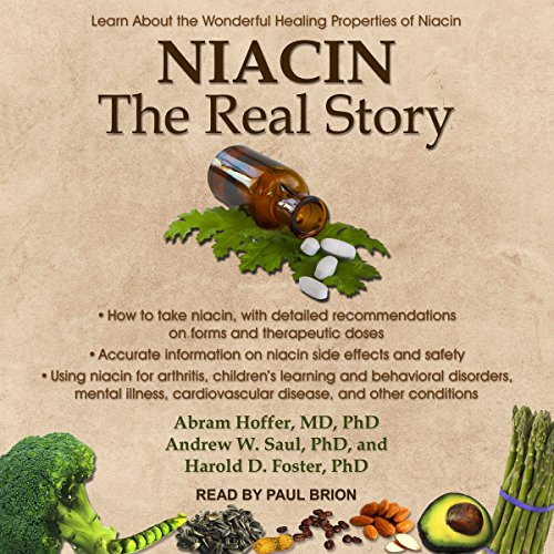 Niacin: The Real Story audiobook cover art