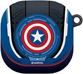 Colourful Case Cover with Avengers Character for Samsung Galaxy Buds Live (Captain America)
