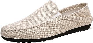 YaNanHome Chaussures Bateau Chaussures Homme Toile Chaussures Hommes été Tissu Respirant Chaussures Hommes Occasionnels Ch...