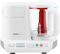 H.Koenig Cuiseur Vapeur Mixeur Bébé BB80 Sans BPA Bol en Verre 950mL, Lames Inox, Nutribaby BabyBoo Electrique, 10 program...