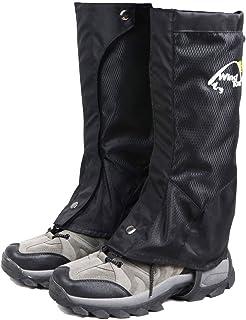 TRIWONDER Polainas Impermeable de Senderismo a Prueba de Viento Nieve Lluvia Cubierta para Montaña Caza Esquí Escalada (1 Par)