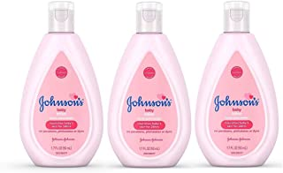 Johnson's Baby Lotion Travel Size 1.7 oz (50ml) - Pack of 3