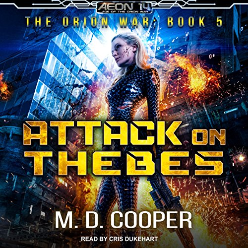 Attack on Thebes audiobook cover art