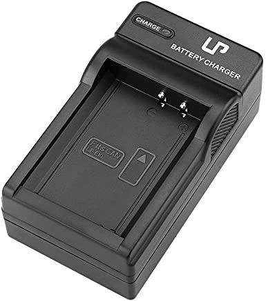 LP LP-E10 Battery Charger, Compatible with Canon EOS Rebel T3, T5, T6, T7, Hi, Kiss X50, X70, X80, X90, 1100D, 1200D, 1300D, 1500D, 3000D DSLR Cameras and More, Replacement for Canon LC-E10 Charger
