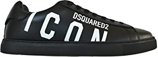 DSQUARED Scarpe da Uomo Lace-up Low Top SNM0005 01503204 M063 Nero Icon