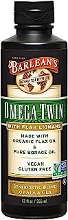 Barlean's Lignan Omega Twin Oil, 12-oz