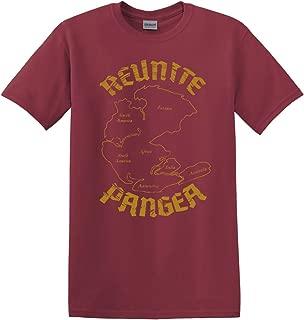 Thread Science Reunite Pangea World Map History Tectonics Funny Men's Adult T-Shirt Apparel