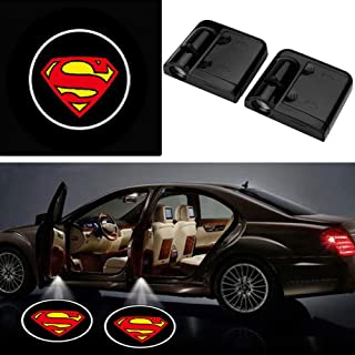 Auto Courtesy Lamp(2pcs), Car Door LED Lighting Entry Laser Ghost Shadow Projector-No Drilling Welcome Lights with Retail ...