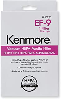 Kenmore 53296 HEPA Media Vacuum Exhaust Filter, EF-9