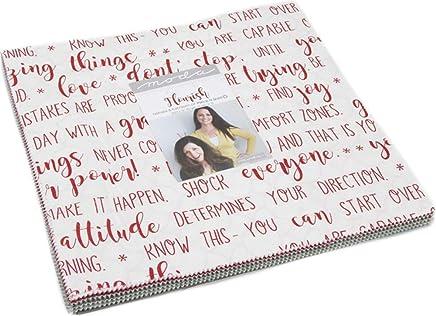 "Flourish Layer Cake, 42-10"" Precut Fabric Quilt Squares by Natalia & Kathleen of Piece N Quilt for Moda Fabrics"