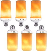 NWHEBET 5 PACK Vintage Gl/ühbirne e27 Gl/ühbirne Kerze LED Kerzen Lampen f/ür Haus Garten Bar Party Hochzeit Restaurant Valentinstag Deko