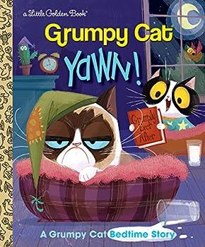 Yawn! A Grumpy Cat Bedtime Story  Grumpy Cat   Little Golden Book