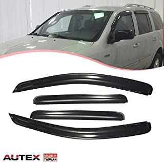 14e9b9d321 AUTEX Tape on Window Visor Compatible with Chrysler Aspen 2007 2008 2009  Dodge Durango 2004-