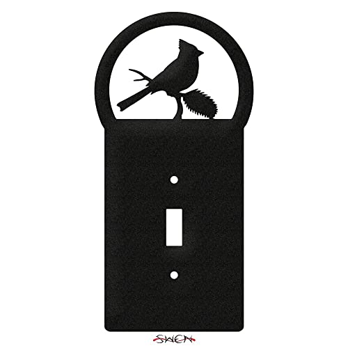 SWEN Products CARDINAL RED BIRD Wall Plate Cover
