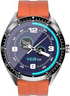 hwbq Smart Horloge 1,3 inch Touch Color Screen Sport Mode Multifunctionele Smart Horloge Klassiek/Groen-Oranje