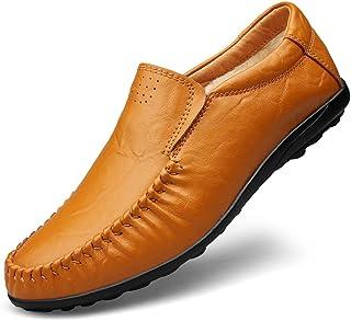 Best-choise Classique d'affaires Hommes Penny Loafers Robe en Cuir PU Souple de Mariage Respirant Chaussures de Sport Anti...