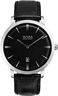 Hugo Boss Men 1513460 Year-Round Analog Quartz Black Watch
