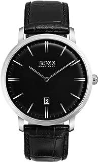 Hugo Boss Men 1513460 Year-Round Analog Quartz Black Watch