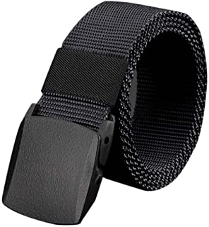 Black Plastic Belt For Men