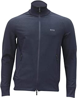 Hugo Boss Men's Sicon Slim Fit Long Sleeve Zip Front Sweatshirt