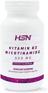 HSN Vitamina B3 500 MG | Suministro 4 Meses | Fórmula