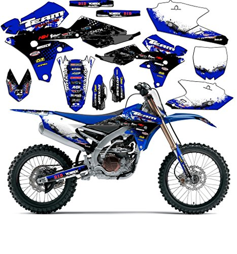 Team Racing Graphics kit compatible with Yamaha 2000-2008 TTR 90, SCATTER