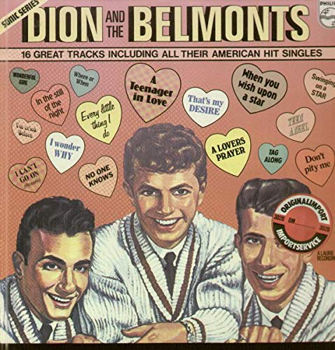 Dion & The Belmonts - Pick Hits Of The Radio Good Guys Vol. 3 - Philips - SON 019 BS, Philips - 9282 302