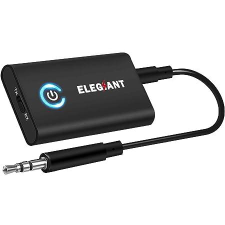 2in 1 Bluetooth v5.0 Audio Transmitter Empfänger Musik Stereo Adapter Sender AUX
