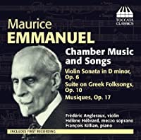 Emmanuel: Chamber Music and Songs by Francois Killian