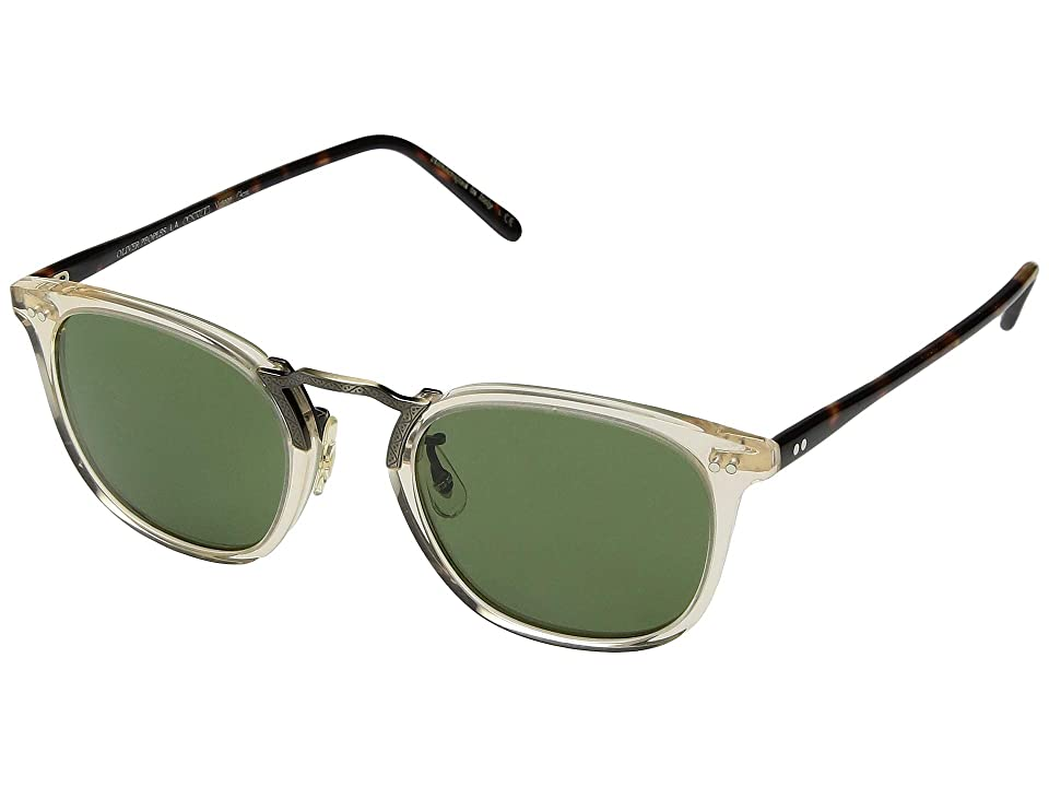 Oliver Peoples Roone (Cocobolo/Brown Lens) Fashion Sunglasses