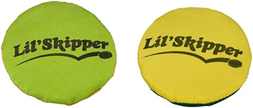 AQUA Lil' Skipper Disks (2 Pack), Toss & Retrieve, Pool Toy, Ages 4 and Up