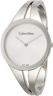 Calvin Klein Women's Analogue Quartz Watch with Stainless Steel Strap K7W2S116