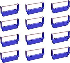 جایگزینی بزرگتر 6-بسته SP700 پرینتر روبان جایگزین B / R برای Star SP-700BR، RC-700BR، SP-712، SP-742 Ink Ribbon (سیاه و قرمز)