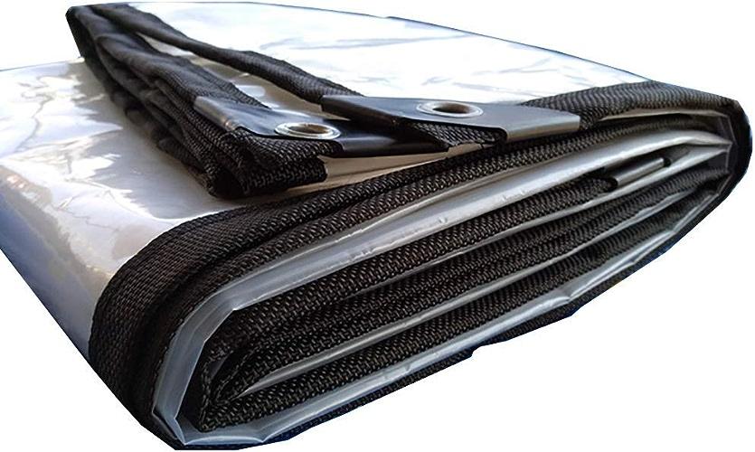MEIDI Home Tente extérieure bache imperméable Transparente bache de Camping en Plein air avec Un revêteHommest de Sol perforé (Couleur   A, Taille   3×3m)
