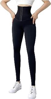 UFLF Leggings Push Up Mujer con Faja Mallas Deporte Mujer Pantalones Elástico de Alta Cintura Leggings Fitness Yoga para E...